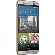 HTC One (M9) Gold on Silver